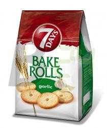 Bake rolls kétszersült fokhagymás 102077 (80 g) ML010701-35-12