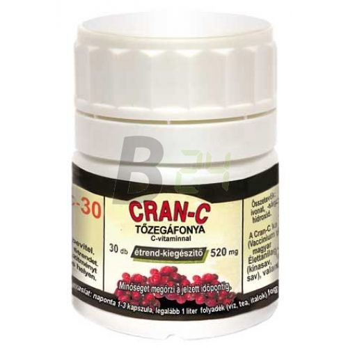 Cran-c tőzegáfonya kapszula 30 db (30 db) ML017712-33-7