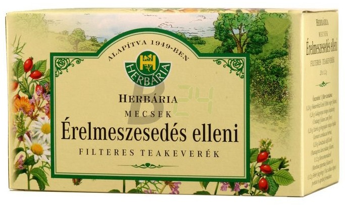 Herbária érelmeszesedés elleni tea filt. (20 filter) ML017766-13-2