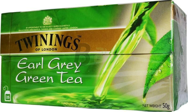 Twinings earl grey zöld tea 25 db (25 filter) ML022892-12-8