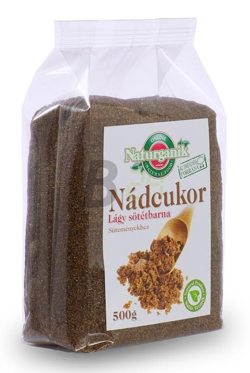 Naturganik nádcukor lágy sötétbarna 500 (500 g) ML023168-10-5