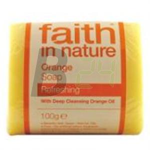 Faith in nature szappan narancs (100 g) ML038263-21-10