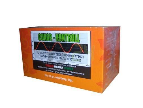 Cukor-kontroll teakeverék filteres (20 db) ML045401-14-10
