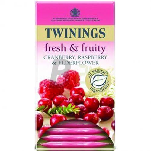 Twinings tözegáf.-málna-bodza tea 20 db (20 filter) ML047977-36-5