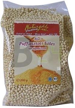 Naturworld bio puff. köles mézes 200 g (200 g) ML049130-31-10