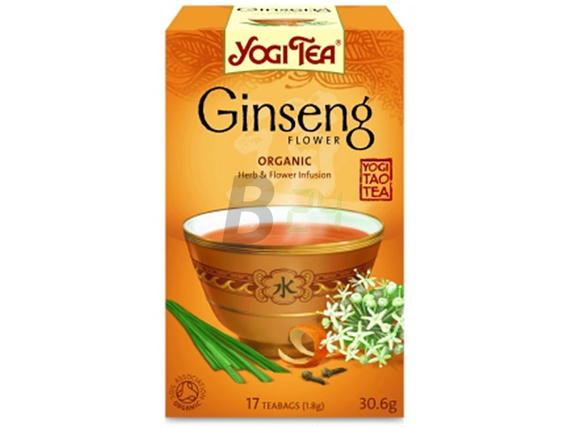 Yogi bio ginsengvirág tea 17 db (17 filter) ML051936-12-4