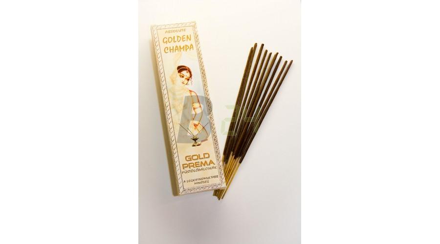 Füstölő gold prema golden champa (10 db) ML053394-25-6