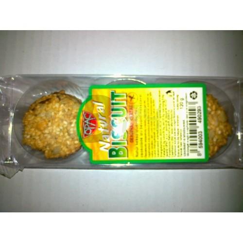 Opac gluténmentes keksz natúr (120 g) ML055727-16-9