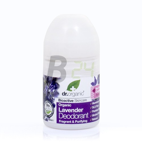 Dr.organic bio levendula golyós deo (50 ml) ML057071-23-2
