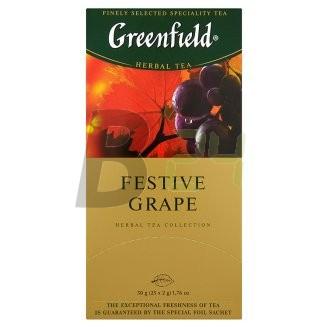 Greenfield festive grape tea (25 filter) ML060955-12-1