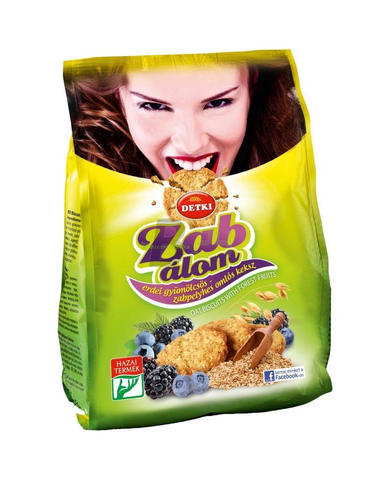 Detki zab-álom omlós keksz zabpelyhes (180 g) ML062904-22-6