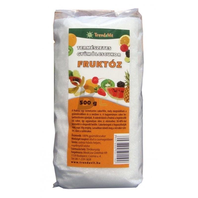 Trendavit gyümölcscukor /fruktóz/ 500 g (500 g) ML064080-3-3