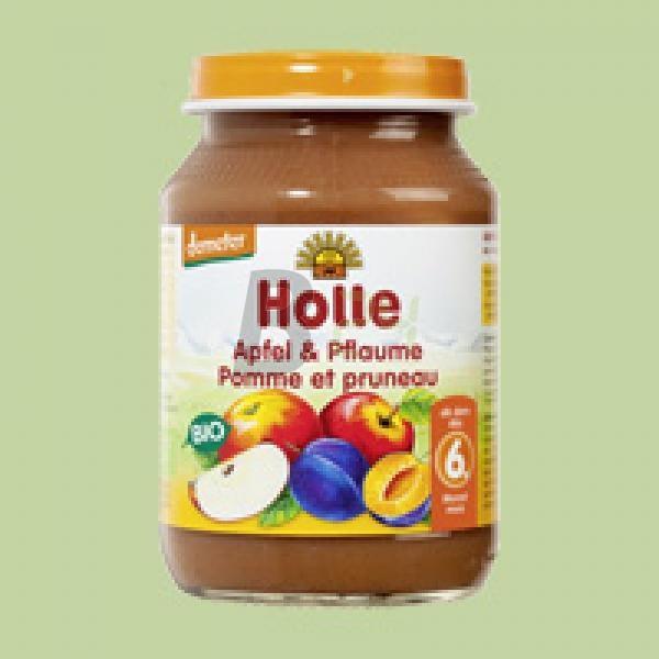 Holle bio bébiétel alma szilvával (190 g) ML068125-8-10