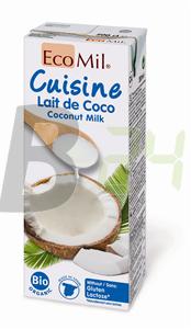 Ecomil bio kókusztejszín (200 ml) ML076454-6-9