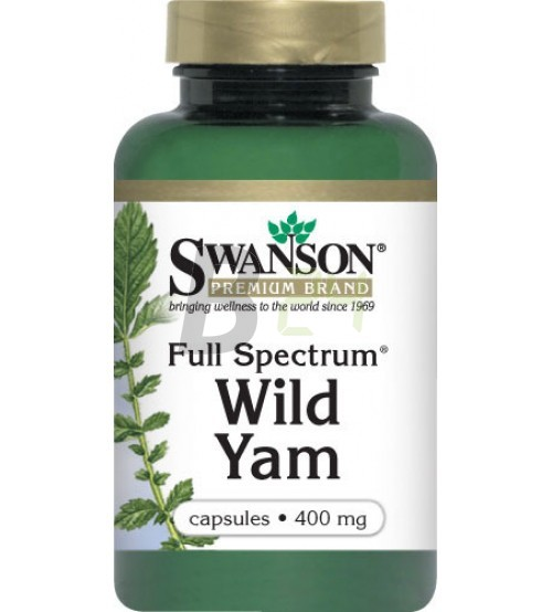 Swanson wild yam kapszula 60 db (60 db) ML078984-110-5