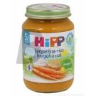 Hipp 6143 sárgarépa-rizs borjúhússal (190 g) ML009368-8-10