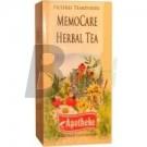 Apotheke memocare herbal tea (20 filter) ML036834-38-6