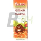 Apotheke gyümölcstea gyerekeknek narancs (20 filter) ML045740-38-6