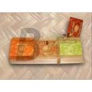 Bali natúr szappan papaja-kókusz-golgota (3X40 g) ML060769-26-8